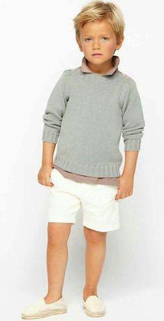 Trends in Boys' Wear Little Boy Fashion, Kids Fashion Boy, Toddler Fashion, Toddler Outfits, Baby Boy Outfits, Girl Fashion, Fashion Check, Toddler Boy Haircuts, Little Boy Haircuts