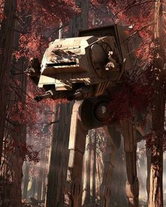 AT-AT Star Wars - this could go on several boards. - Pin This Rpg Star Wars, Nave Star Wars, Star Wars Ships, Star Trek, Images Star Wars, Star Wars Pictures, Star Wars Concept Art, Star Wars Fan Art, Overwatch