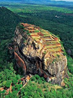 Sigiriya, Sri Lanka It wasn't this sunny for me, but the view was still as breathtaking