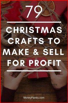 Christmas Crafts To Sell Make Money, Christmas Craft Fair, Diy Christmas Gifts, Diy Crafts To Sell, Holiday Crafts, Christmas Ideas, Christmas Christmas, Christmas Makes To Sell, Christmas Projects