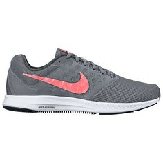 BuyNike Downshifter 7 Women's Running Shoes, Cool Grey/Lava Glow, 4 Online at johnlewis.com