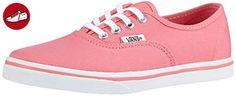 Vans K AUTHENTIC LO PRO, Unisex-Kinder Sneakers, Mehrfarbig (strawberry pink/true white), 35 EU (*Partner-Link)