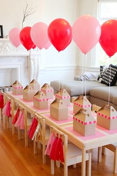 Birthday Party Crafts Ideas