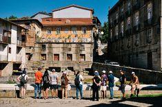 Tanques de courros with Ciência Viva No Verão in Guimarães
