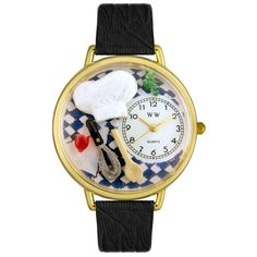 Love cute watches!How adorable for a chef! - Now there's a watch I would wear with pride.