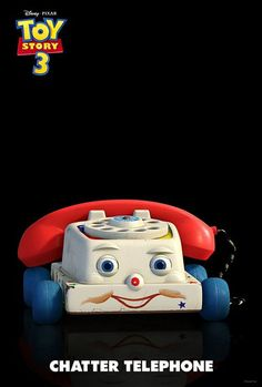 *CHATTER TELEPHONE ~ Toy Story 3 Poster, 2010