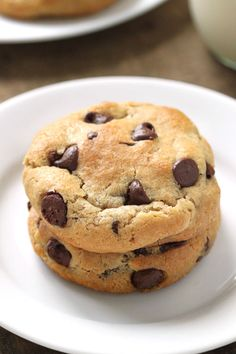 Gluten-Free Chocolate Chip Cookies are great for kids and adults alike. Everyone will devour them!