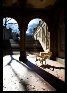 Photograph by Dominic Ronzo Bethesda Terrace Arcade, Central park Conservancy -New York City Africa Map, South Africa, Central Park, Travel Around, Arcade, New York City, Terrace, Past, Centre