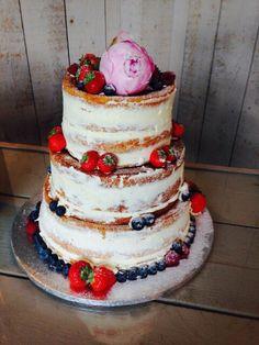 Naked weddingcake! !