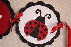 ladybug party ideas   Ladybug party- red version