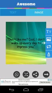 Status Quotes for WhatsApp - change background  image of quotes