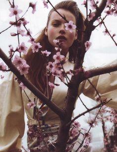 Polina Kouklina shot by Enrique Badulescu for 10
