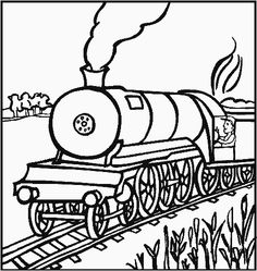 train coloring pages...because my 2 year old is obsessed! | Gavin ...