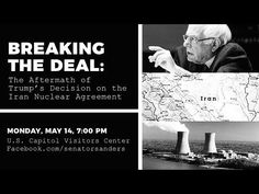 Iran Nuclear Deal Town Hall: The Consequences of Trump's Decision to Wit. Left Wing, Right Wing, Nuclear Deal, Town Hall, Democratic Party, Current Events, Iran, How To Become, Politics
