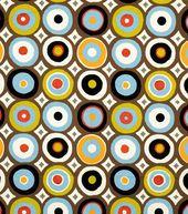 Home Decor Print Fabric-Eaton Square Dolly /  Festival - Joann Fabrics - so retro '70s