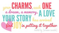 Which charms would you choose to tell your story?  #OrigamiOwl #O2 #Charms #LivingLockets