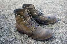 Red Wing Iron Ranger at 6month of daily wear: