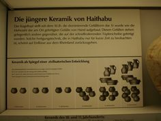 pottery timeline (Wikinger Museum Haithabu)