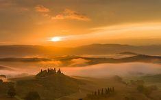 Tuscan sunset | Tuscany sunset wallpaper - 1399558
