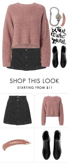 """""""Preadored"""" by emilypondng ❤ liked on Polyvore featuring Topshop, rag & bone, H&M, vintage and PreAdored"""