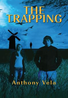 My novel The Trapping cover that I designed.