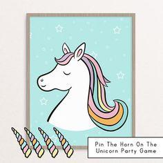Unicorn Birthday Game  Little Girl Unicorn Party Game