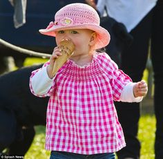 Savannah Phillips, 1st great grandchild of HM Queen Elizabeth II, 1st grandchild of HRH Princess Anne, The Princess Royal, and daughter of Peter and Autumn Phillips
