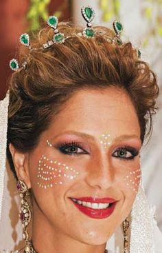 Tiara Mania: Morocco Lalla Soukaina Filali's Emerald Tiara