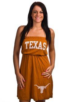 Texas Longhorns Original Retro Brand Dress - Orange Longhorns Strapless Dress http://www.rallyhouse.com/shop/texas-longhorns-original-retro-brand-texas-longhorns-jr-burnt-orange-tube-dress-481434?utm_source=pinterest&utm_medium=social&utm_campaign=Pinterest-TexasLonghorns $39.95