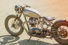 1966 Triumph Bonneville custom hard-tail bobber