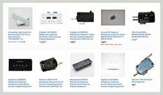 Refrigerator Dispenser Micro Switch and Control Board Parts