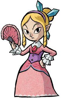 Mila - Characters & Art - The Legend of Zelda: The Wind Waker HD