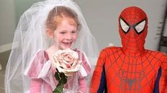Superhero Compilation! Spiderman marries Ariel?? Disney Princess wedding w/ Frozen Elsa - YouTube