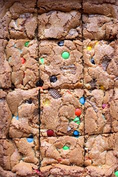 Candy Bar Cookie Bars | http://joythebaker.com/2014/11/candy-bar-cookie-bars/