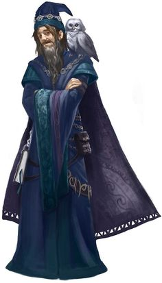 DnD male wizards, warlocks and sorcerers - inspirational PART 1 - Imgur