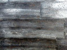 Painted concrete floors to look like hardwood.
