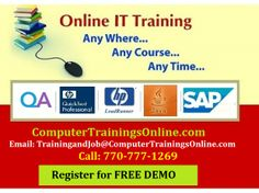 ComputerTrainingsOnline.com is a premier global online training center that serves software testing training to many of graduates and experienced professionals locating at USA Atlanta. We integrate our passion in quality training for effective result. Our instructors are accomplished in area of ETL testing and they committed to exceed students expectations in terms of delivering valued ETL Testing training.