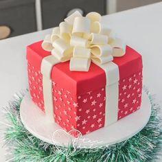 Cake Decorating Techniques, Cake Decorating Tutorials, Cookie Decorating, Fancy Cakes, Cute Cakes, Yummy Cakes, Fondant Cakes, Cupcake Cakes, Bow Cakes