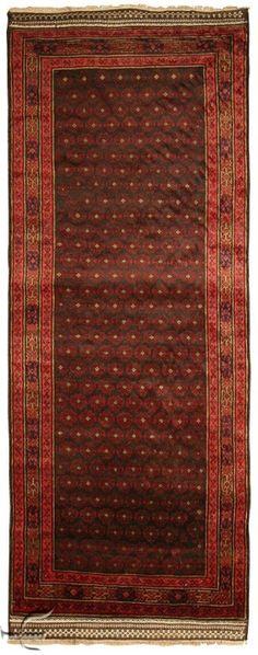 Central Asian Rug - Beluch Carpet Width 110.00 cm (3,61 Feet) Lenght 274.00 cm (8,99 Feet)