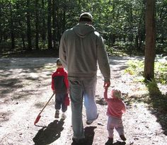 6 Things to do with Preschoolers and Toddlers in the Big Woods