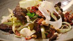 Belgium Food, Tacos, Mexican, Vinaigrette, Pasta, Lunch, Beef, Ethnic Recipes, Salads