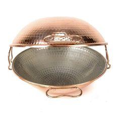Hammered Copper Cataplana - ∅21cm - 60 GBP