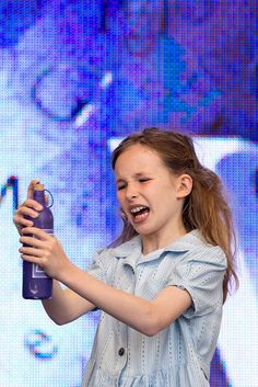 Cristina Fray performing Naughty from Matilda the Musical at West End Live 2013