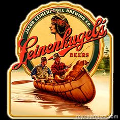 Lot Of 2 Vintage Native American Indian Beer Label We