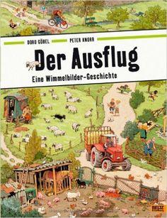 Der Ausflug: Eine Wimmelbilder-Geschichte. Vierfarbiges Papp-Bilderbuch: Amazon.de: Doro Göbel, Peter Knorr: Bücher