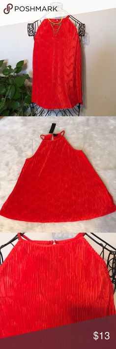 """Worthington red blouse Worthington fiery red top xl.  Bust 22"""" the material is very stretchy 26"""" long Worthington Tops Blouses"""