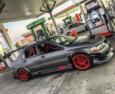 """Just sipping on some E85 with my brotha @evo951"""