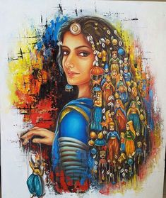 Dancing art painting music 37 new ideas Dance Paintings, Rajasthani Painting, Art Painting, Indian Art Paintings, Painting, Amazing Art Painting, Art, Creative Painting, Music Illustration