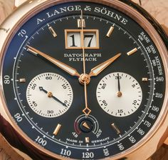 A. Lange and Sohne Datograph Up/Down Pink Gold Watch Hands-On