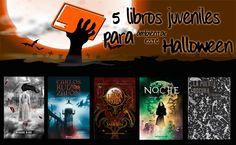 5 libros juveniles para ambientar este #Halloween